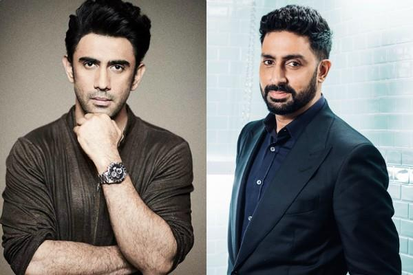 amit sadh checked covid 19 few days ago he spotted with abhishek bachchan