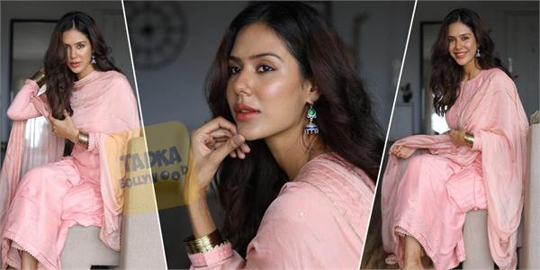 sonam bajwa photoshoot for famous brand