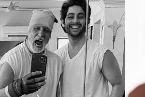 karan johar will launch amitabh bachchan grandson agastya nanda