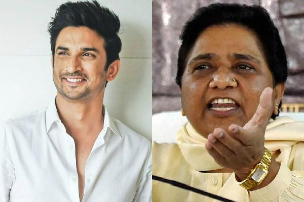 bsp president mayawati demands cbi probe in sushant singh case