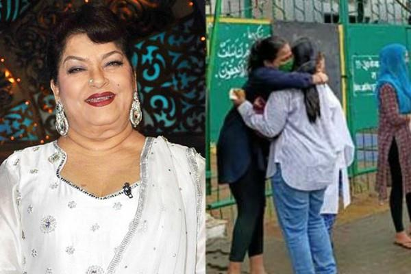 saroj khan daughters burst into tears during last good bye mother
