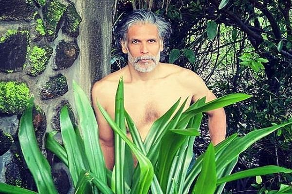 milind soman share his photo users compared kiara advani