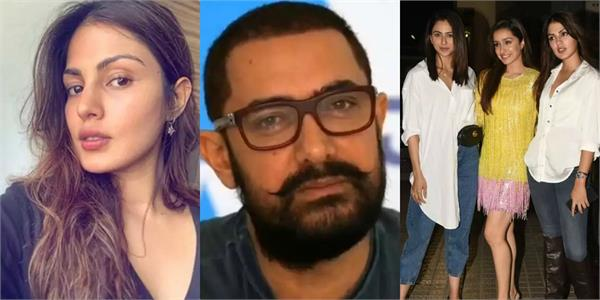 rhea in touch with several celebrities like aamir khan shraddha to aditya roy