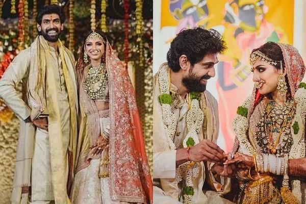 rana daggubati married with miheeka bajaj pictures viral