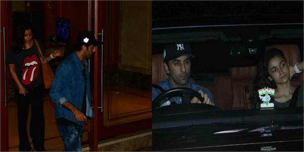 ranbir kapoor alia bhatt visit sanjay dutt after his cancer diagnosis