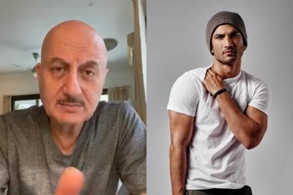 anupam kher seeks justice for the sushant singh rajput