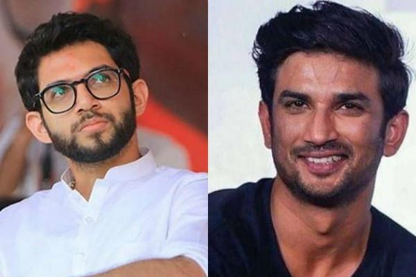 uddhav thackeray son aaditya thackeray break his silence on sushant case