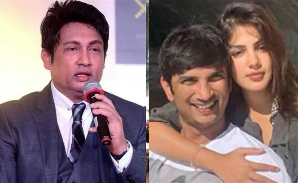 sushant case shekhar suman wants rhea chakraborty arrested