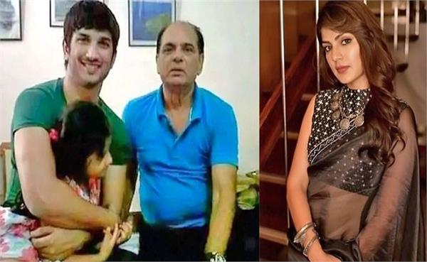 sushant actress friend reveals rhea chakraborty in front of actor family