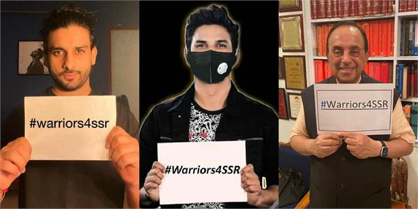 warriors4ssr sushant singh rajput fans digital protest for actor justice