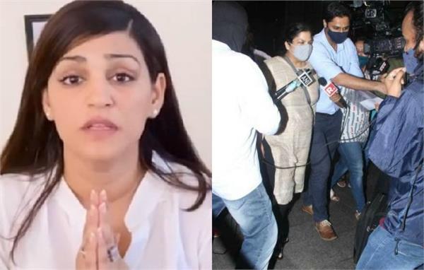 sushant singh rajput sister shweta singh kirti reaction on cbi reached mumbai