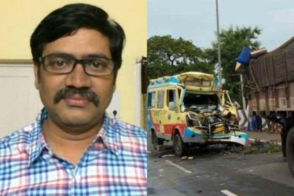 telugu film distributor kamalakar reddy and his father died in accident