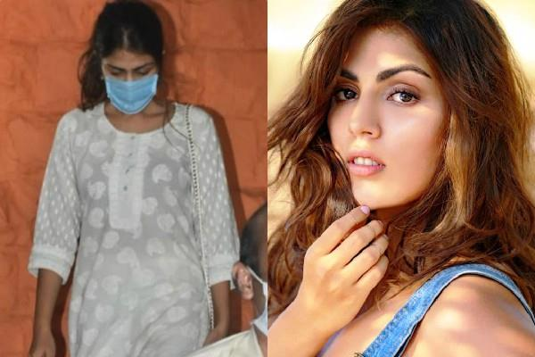 rhea chakraborty gets angry during cbi interrogation on the third day