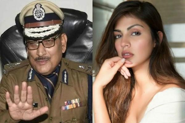 bihar dgp gupteshwar pandey apologized for aukat word over rhea chakraborty
