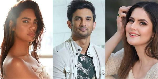 esha gupta to zareen khan want justice for sushant singh rajput