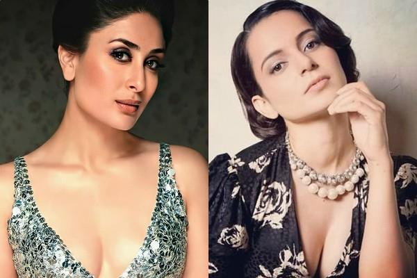 kangana slams kareena kapoor when she made a statement on nepotism