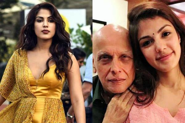 rhea call detail reveals she was in contact with a director besides mahesh bhatt