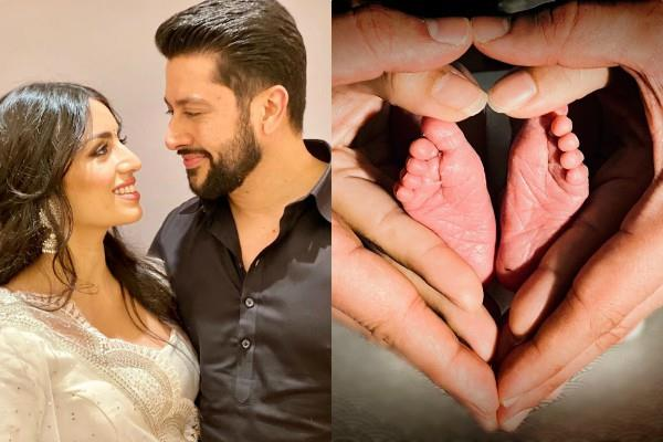 aftab shivdasani and nin dusanj blessed with baby girl