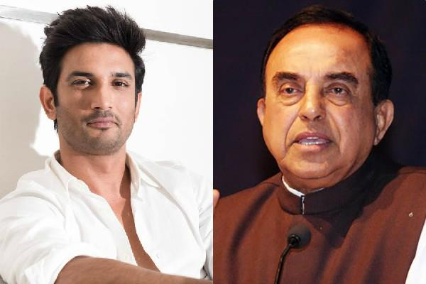 subramanian swamy said sushant was poisoned before hanging
