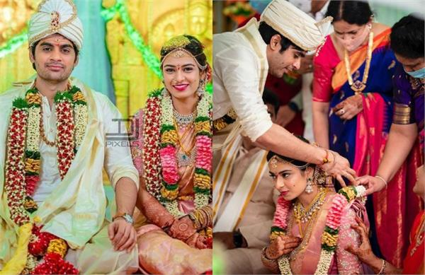 saaho director sujeeth tie knot with fiancee pravallika