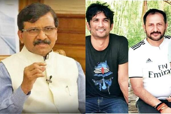 sushant cousin neeraj will file defamation case against sanjay raut