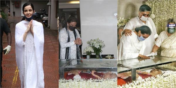 anup jalota and rukhsar arrived at antim darshan of pandit jasraj
