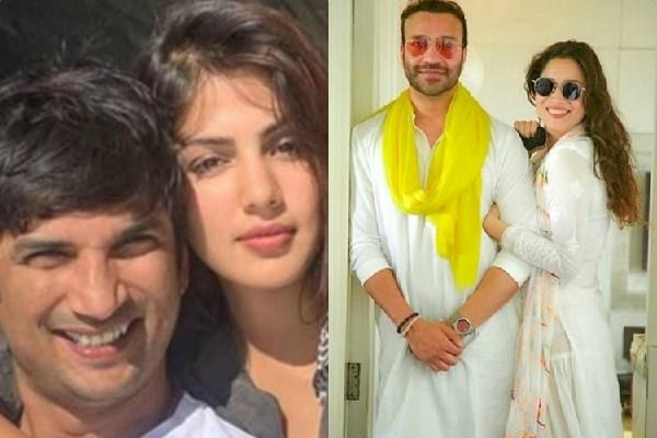 rhea claims ankita lokhande is dating sushant friend vicky jain