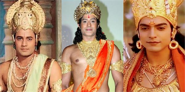 arun govil to gurmeet chaudhary played the character of lord shriram