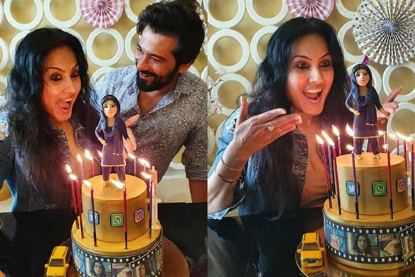 kamya panjabi celebrate her birthday with her husband shalabh dang