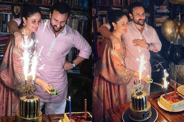 kareena kapoor celebrates saif ali khan s birthday pics viral