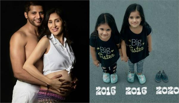 karanvir bohra announce wife teejay sidhu second pregnancy