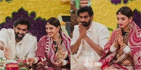 rana daggubati and miheeka bajaj photos viral after marriage