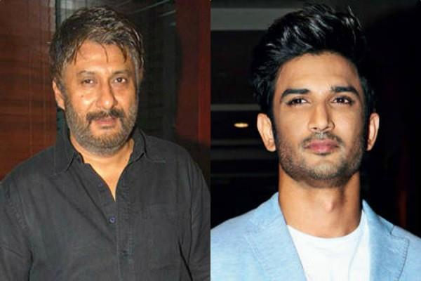 vivek agnihotri revealed a star threatened to end sushant s career