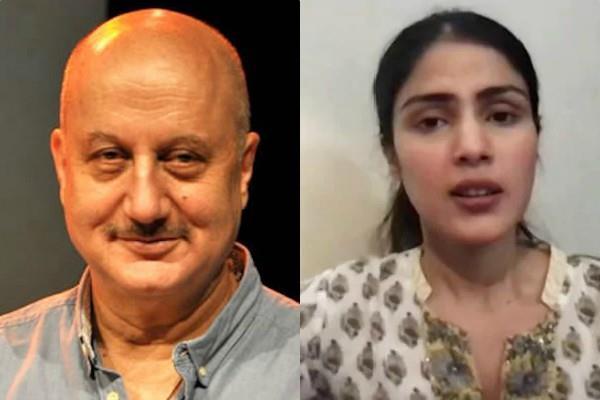 anupam kher adnan sami take a dig on rhea interview