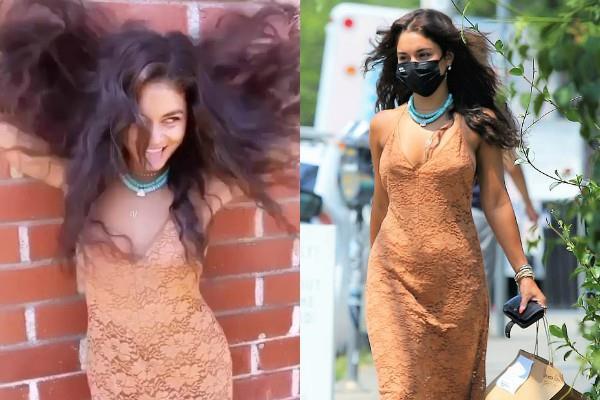 न्यूड ड्रेस में वेनेसा हेजेंस का बोल्ड अंदाज, ओपन हेयर्स में यूं पागलपंती करती दिखीं एक्ट्रेस
