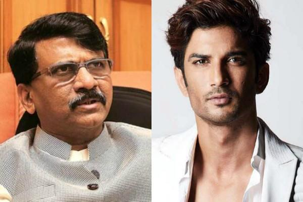 complaint filed against mp sanjay raut in sushant case