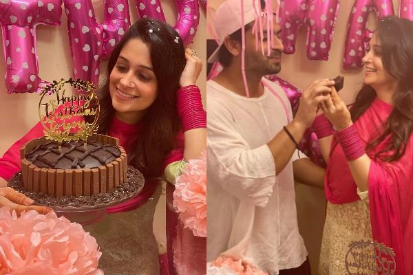 shoaib ibrahim gave surprise to wife deepika birthday