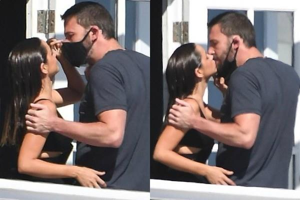 ana de armas romantic pics viral with ben affleck