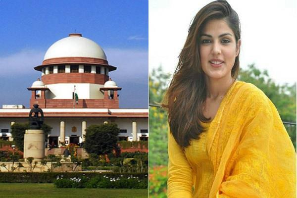 rhea chakraborty approaches to supreme court accusing media