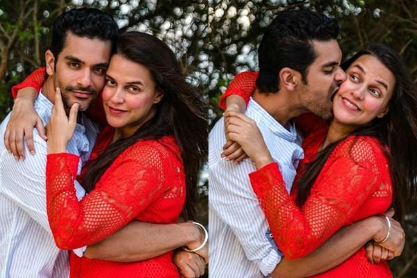 angad bedi shares romantic photos on neha dupia birthday