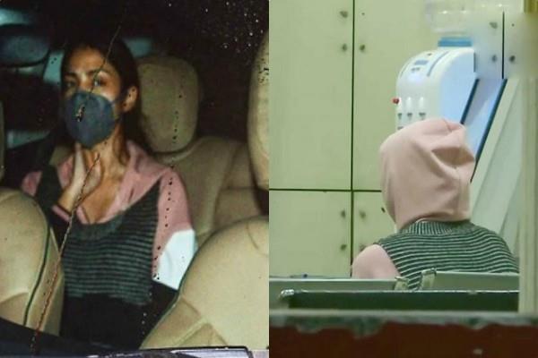 rhea reaches santacruz police station after cbi interrogation