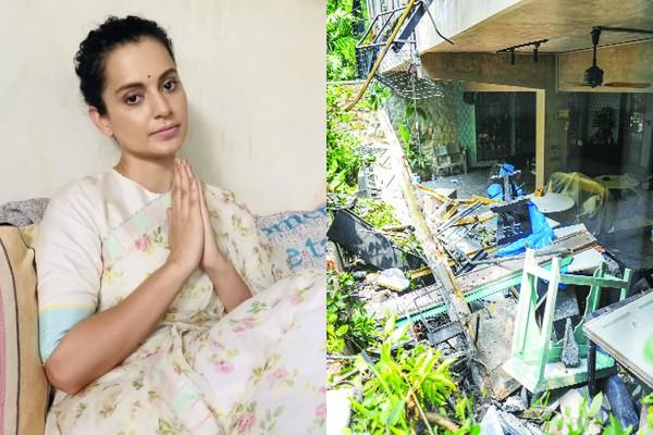kangana ranaut thanks bombay high court in case against bmc