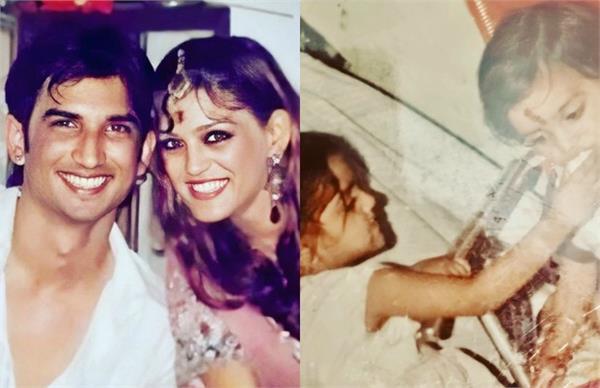 sushant singh rajput sister shweta shares an emotional post
