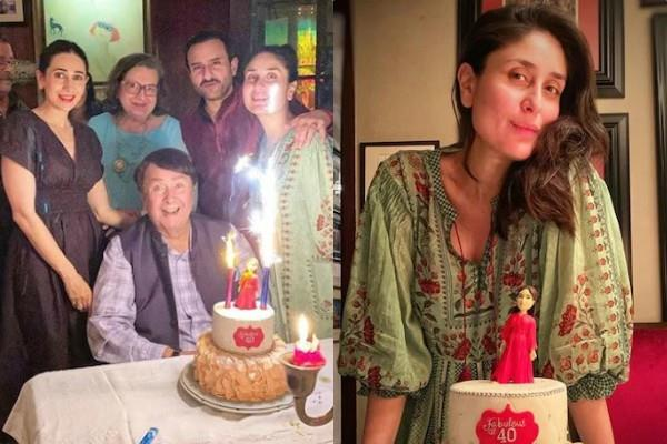 kareena kapoor khan celebrate her 40th birthday with family