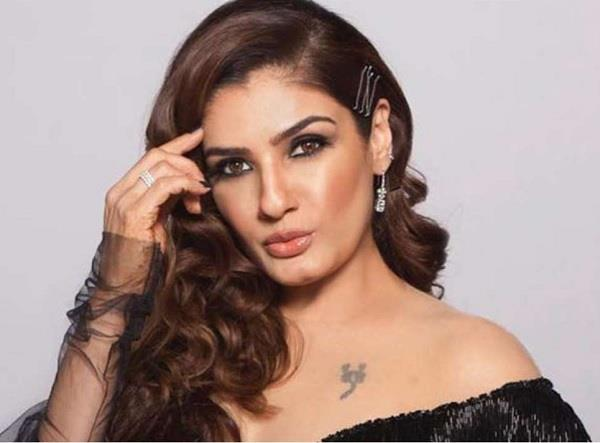 raveena said stars are soft target without local authority help drug cant supply