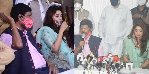 payal ghosh met with ramdas athawale about anurag kashyap matter