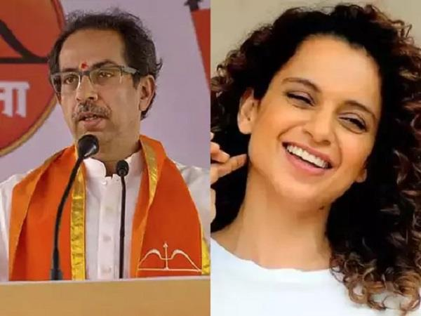 uddhav thackeray break silence over kangana ranaut controversy