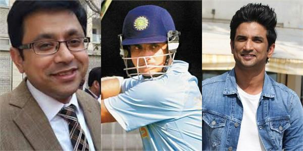 varun mathur reveals to ed sushant wanted to make biopic of sourav ganguly