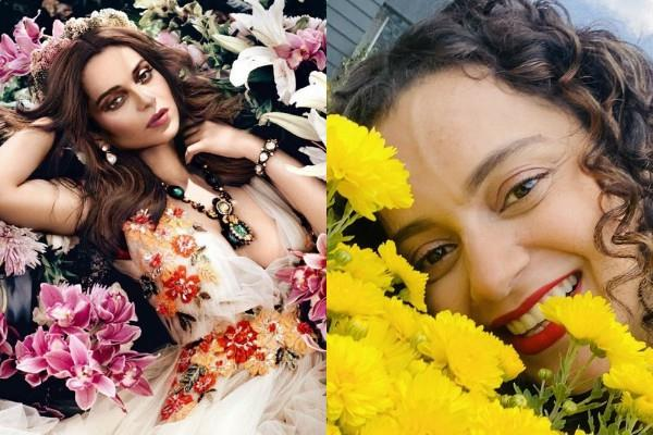 kangana ranaut shared her glamorous picture with interesting caption