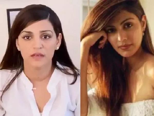 sushant singh sister shweta reaction on rhea chakraborty complaints